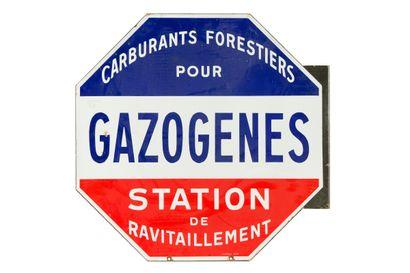 GAZOGENES, Carburant forestier pour, Station...