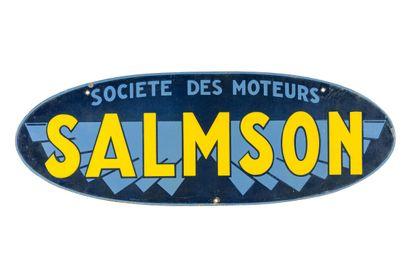 SALMSON Société des moteurs.  Émaillerie...