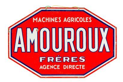 AMOUROUX Frères, Machines agricoles.  Émaillerie...