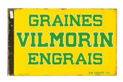 VILMORIN GRAINES, ENGRAIS.  Émaillerie Alsacienne...