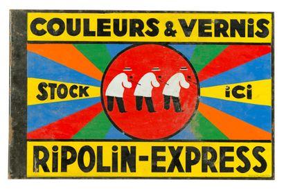 RIPOLIN Couleurs & vernis.  Émaillerie Alsacienne...
