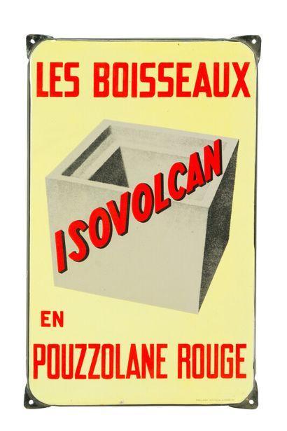 ISOVOLCAN Les boisseaux en pouzzolane rouge....