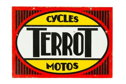 TERROT Cycles Motos.  Émaillerie Alsacienne...