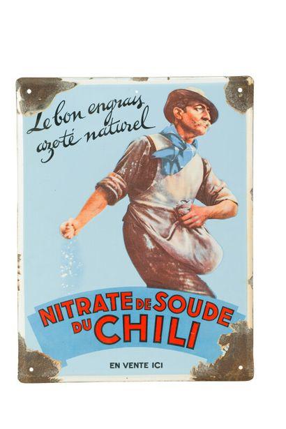 NITRATE de SOUDE du CHILI, Le bon engrais...