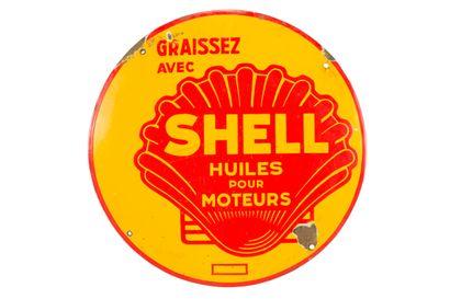 SHELL Huiles pour moteurs.  Sans mention...