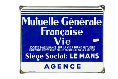 MUTUELLE GÉNÉRALE FRANÇAISE Société d'assurance...