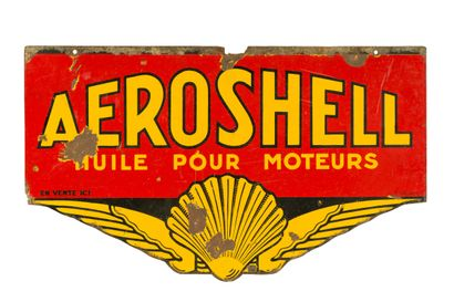 AEROSHELL Huile pour moteurs.  Émaillerie...