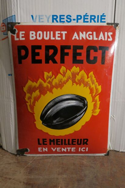 PERFECT Le boulet Anglais.  Émaillerie Alsacienne...