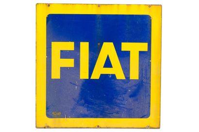 FIAT (Automobiles).  Sans mention d'émaillerie,...