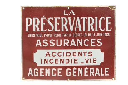 LA PRÉSERVATRICE Assurances, Agence générale....