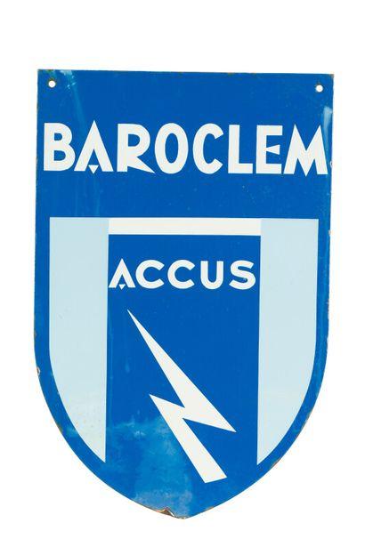 BAROCLEM Accus.  Émaillerie Alsacienne Strasbourg,...
