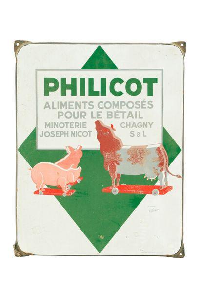 PHILICOT Aliments composés pour le bétail....