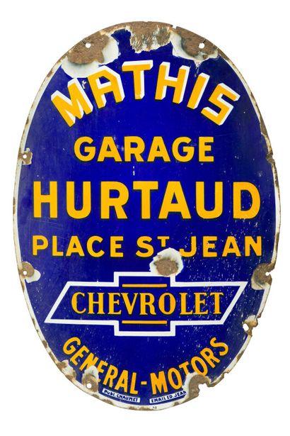 MATHIS - CHEVROLET, Garage HURTAUD place...