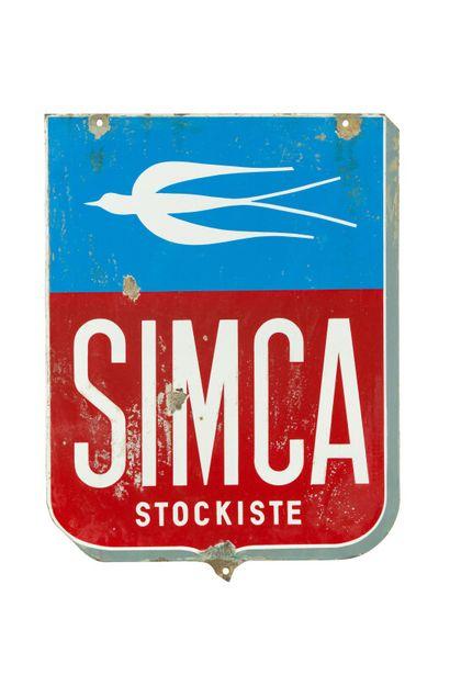 SIMCA Stockiste (Automobiles).  Sans mention...