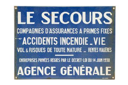 LE SECOURS Assurances, Agence générale.  Émail...