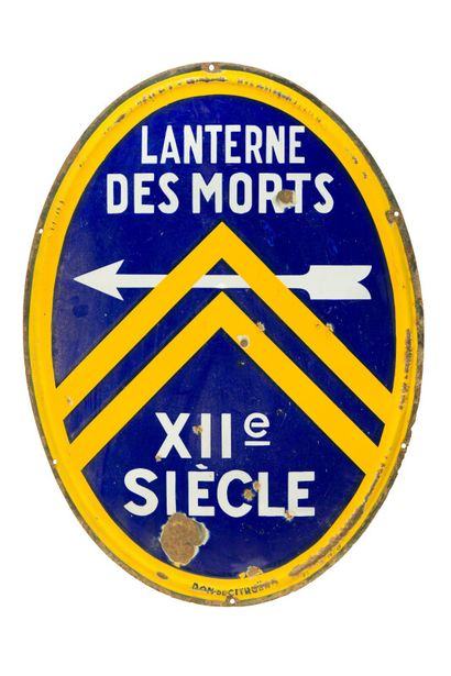 LANTERNE DES MORTS XIIe Siècle, Don CITROËN...