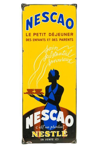NESCAO, Le petit déjeuner, c'est un produit...