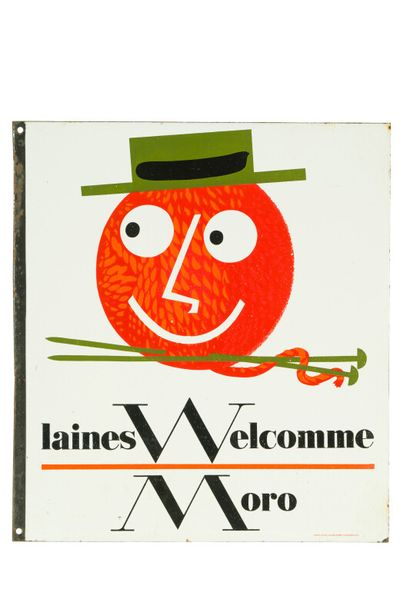 WELCOMME MORO Laines.  Émaillerie Alsacienne...