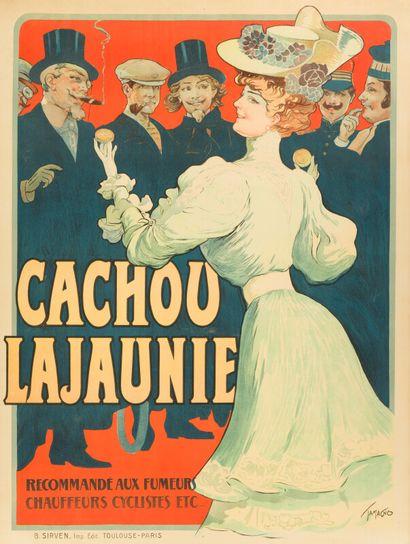 CACHOU LAJAUNIE, Recommandé aux fumeurs,...