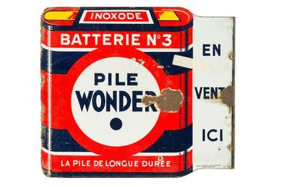 WONDER PILE Batterie N°3.  Émaillerie Alsacienne...