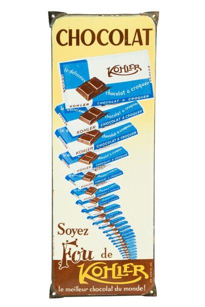 KOHLER Chocolat, Soyez fou de KOHLER.  Émaillerie...