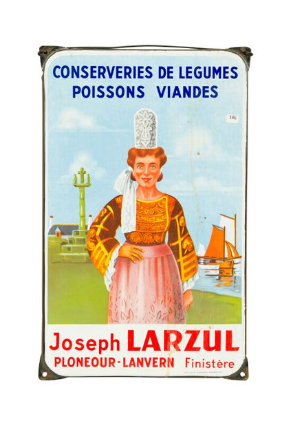 JOSEPH LARZUL, Conserveries de légumes, poissons,...