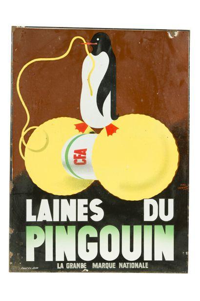 LAINES DU PINGOUIN, La grande marque nationale....