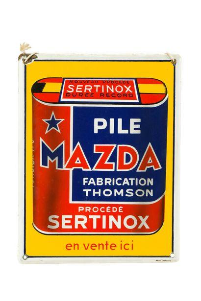 MAZDA Pile, fabrication Thomson, procédé...