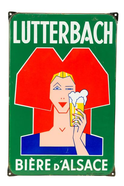 LUTTERBACH Bière d'Alsace.  D'après André...