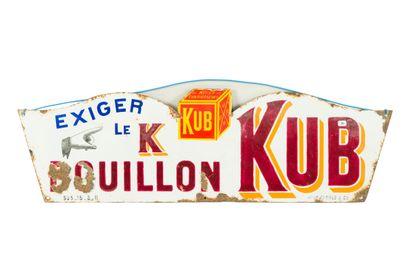 KUB BOUILLON, Exiger le K.  Émaillerie Japy...