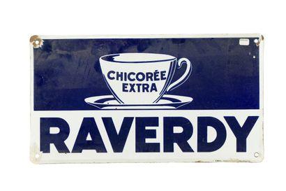 RAVERDY Chicorée extra.  Émaillerie Koekelberg,...