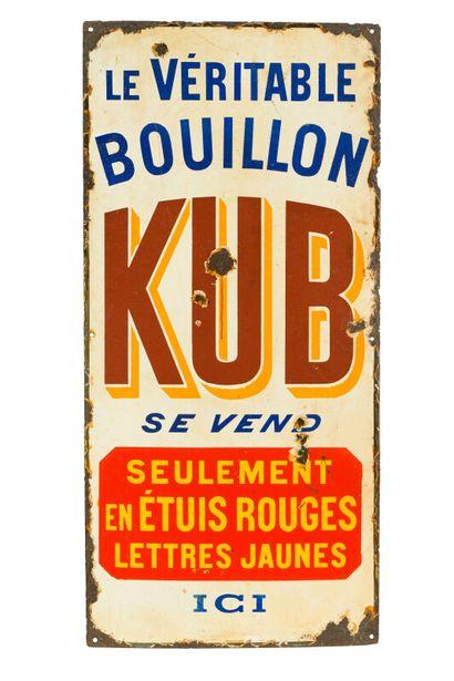 KUB Le véritable bouillon.  Émaillerie Japy,...