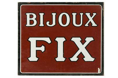 BIJOUX FIX.  Sans mention d'émaillerie, vers...