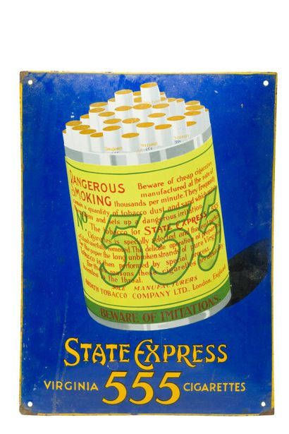 555 STATE EXPRESS Virginia cigarettes  Sans...