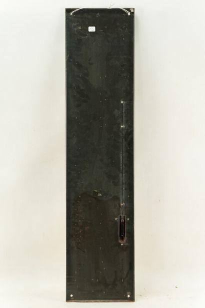 COQ HARDI La bière.  Émaillerie Alsacienne Strasbourg, vers 1950.  Thermomètre émaillé...