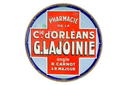 Cie. D'ORLÉANS G. LAJOINIE Pharmacie.  Émaillerie...