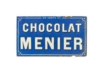 MENIER CHOCOLAT.  Émaillerie Edmond Jean,...
