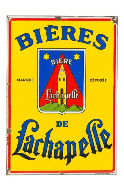 LACHAPELLE Bières de.  Émaillerie Alsacienne...