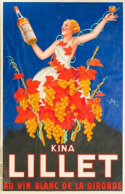 KINA LILLET, Au vin blanc de la Gironde....