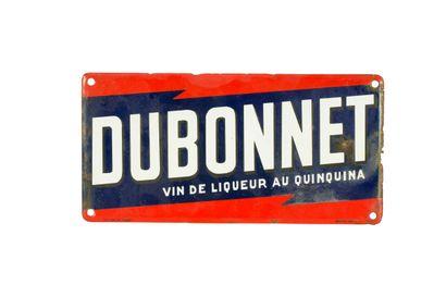 DUBONNET Vin de liqueur au quinquina.  Émaillerie...