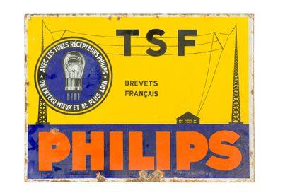 PHILIPS TSF.  L'Émaillo-gravure, vers 1930....