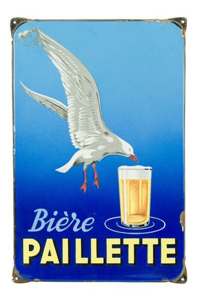 PAILLETTE BIÈRE.  D'après M. MALLET, 1935....