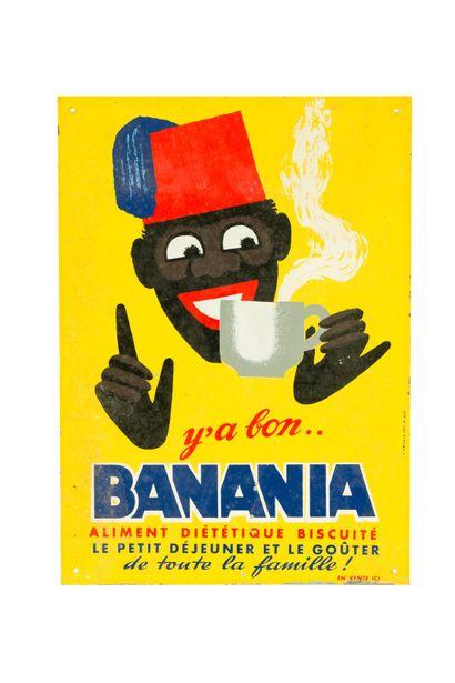 BANANIA Y'a bon.  D'après Hervé MORVAN, 1955....