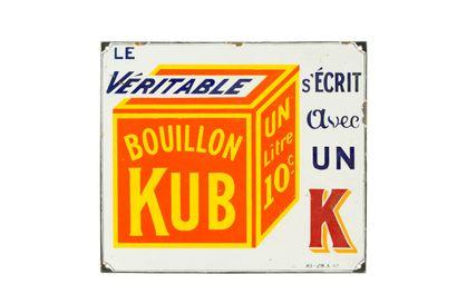 KUB Le véritable s'écrit avec un K.  Sans...