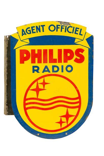 PHILIPS RADIO, Agent officiel.  Émaillerie...