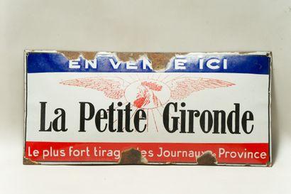 LA PETITE GIRONDE (Presse).  Émaillerie Alsacienne...