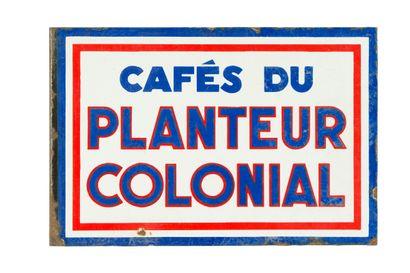 PLANTEUR COLONIAL Café du.  Sans mention...