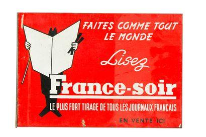 FRANCE SOIR Le plus fort tirage de tous les...