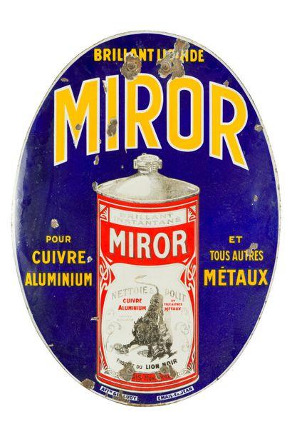 MIROR Brillant liquide.  Émaillerie Edmond...