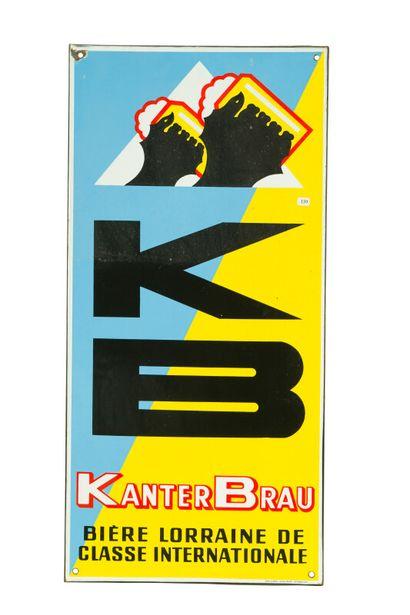 KB Bière KANTERBRAU, Bière Lorraine de classe...